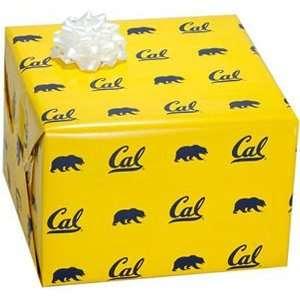 Cal Bears Gold Logo Gift Wrap Paper