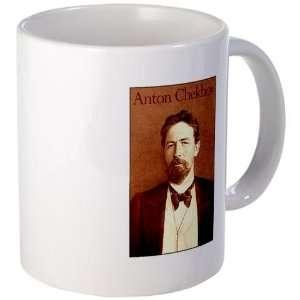Anton Chekhov Shakespeare Mug by  Kitchen