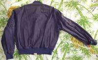 Vintage Bomber JACKET 80s Army Air Forces FLYER 1987 War Service