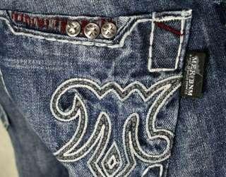 MEK Denim Jeans Mens MARRAKECH medium Blue SLIM Bootcut