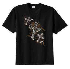 Crosses Angel Christian Cross T Shirt  S M L XL 2X 3X 4X 5X 6X