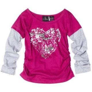 Baby Phat   Kids Girls 4 6x Zebra Faux Fur Hoodie Sweater Clothing