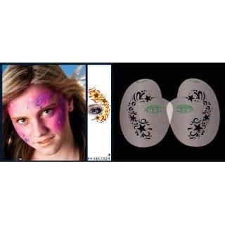 Butterfly Design Stencil Airbrush Makeup Face Template