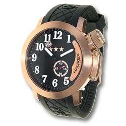 Haurex Italy Armata Mens Rose Gold Watch