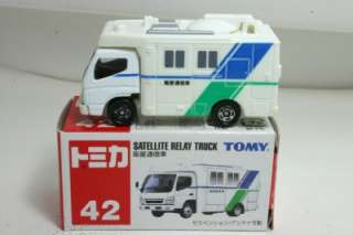 Blue Tomy Tomica Satellite Relay Truck #42
