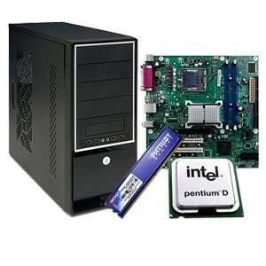 Intel Desktop Apex Barebone Kit: Computers & Accessories