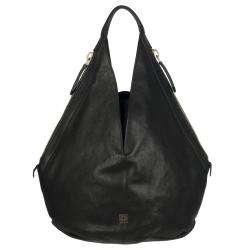 Givenchy Tinhan Large Black Leather Hobo Bag