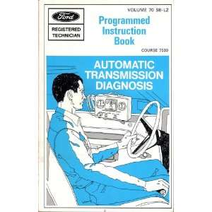 Automatic Transmission Diagnosis Programmed Instruction