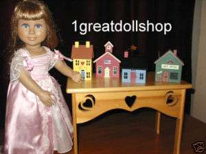 Nu 4 Mini Miniature Village Doll Houses Collection Lot