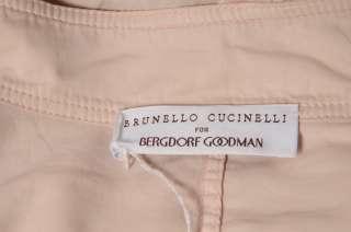 CUCINELLI Lightweight Military Cargo Zip Jacket Top Blouse 46
