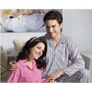 High Quality Mens Grey Pure Cotton Nightwear With Irregular Print