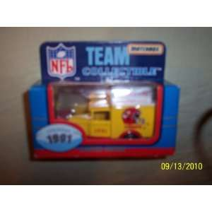 Matchbox   Team Collectible   1991 Kansas City Chiefs Truck