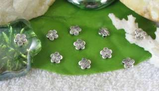 250pcs Tibetan silver Flower Spacer Beads FC10690