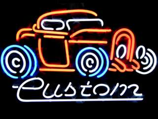 VINTAGE CUSTOM AUTO BEER BAR NEON LIGHT SIGN me408