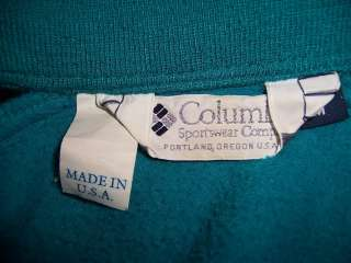 Columbia Ladies Jacket Coat Womans Medium Aqua Blue