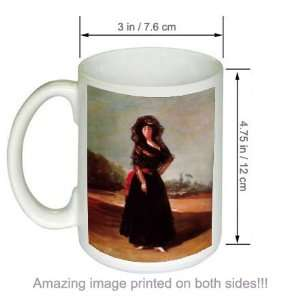 Goya Art COFFEE MUG Portrait of the Duchess of Alba Kitchen & Dining