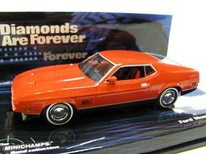 43 Minichamps Ford Mustang Mach 1 (007 collection)