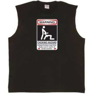 Choking Hazard X Rated Mens Tank Top Muscle t shirt