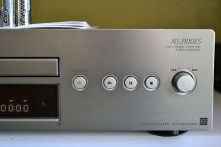 NS 3100ES SACD/DVD/CD player+MANUAL/REMOTE+MINT+