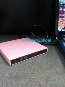 Pink mini, netBook, Laptop External USB DVD/CD (New)