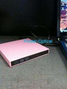 Pink mini, netBook, Laptop External USB DVD/CD (New)