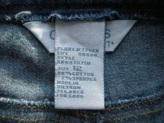 KORET CITY BLUES Stretch Cotton Denim Blue Jeans 12  34 X 29 Elastic