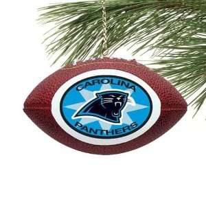 NFL Carolina Panthers Mini Football Ornament