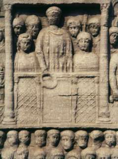 Theodosius I, 347 95 Roman Emperor, Presenting Laurel Crown to Winners