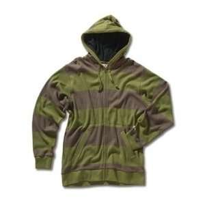 Planet Earth Clothing Aurora Zip Hooded Sweatshirt: Sports