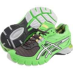 Asics Womens Gel Upstart Running Shoes Sneakers Apple Green Lightning