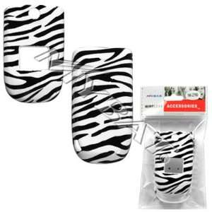 Black and White Stripes Zebra Skin Animal Design Snap On