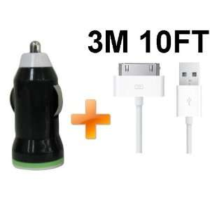 Long USB Cable for iPhone 4 4S iPod Touch Cell Phones & Accessories