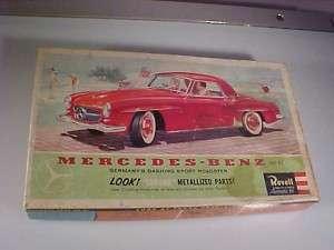 VTG 1960 REVELL Model 125 MERCEDES BENZ 190 SL Kit Box