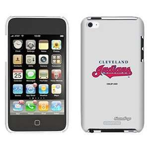Cleveland Indians on iPod Touch 4 Gumdrop Air Shell Case