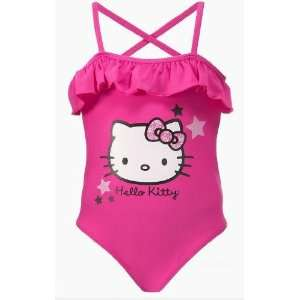 Sanrio Hello Kitty 1PC Swimsuit Bathing Suit Toddler Girl