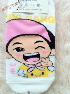 BIG BANG Socks ~SeungKi GD TOP TaeYang DaeSung Kpop Korean Character