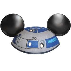 R2 D2 Astromech Droid Mickey Mouse Ears Top Hat Collectible LE