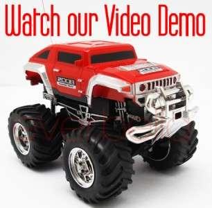 43 Mini RC Radio Remote Control Pickup Monster Truck and Jeep 9181 1