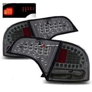 06 08 Honda Civic 4 Door LED Tail Lights   Smoke