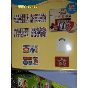Instant Room Decor 95+ Letters & Numbers  Boy Theme (Value Pk) Baby