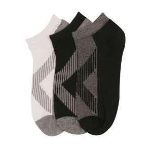 HS Men Ankle Socks XXLine Design (size 9 11) 3 Colors 6