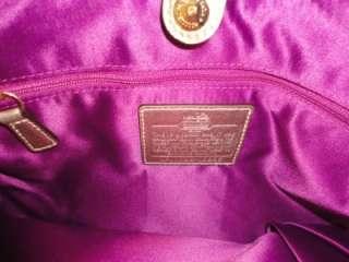 NWT COACH 18886 MADISON KHAKI Gold Signature C Gathered MAGGIE