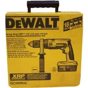 Heavy Duty 18 Volt Ni Cad 1/2 Inch Cordless Hammer Drill/Driver Kit