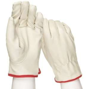 West Chester 9940KF Leather Glove, Shirred Elastic Wrist