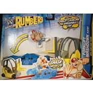 Forklift Smashdown Playset   WWE Rumblers Toy Wrestling Action Figure