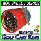Club Car DS Golf Cart Series Electric Motor  High Speed