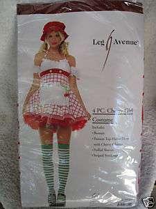 CHERRY GIRL fruit womens sexy halloween costume L
