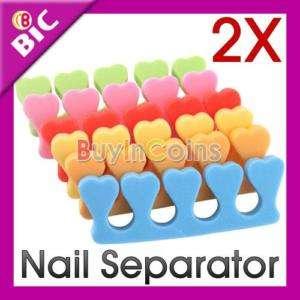 Soft Toe Finger Separator Nail Art Manicure Pedicure