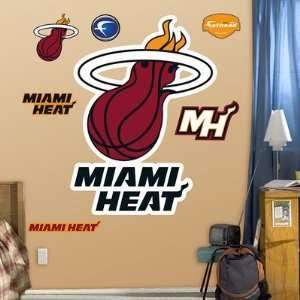 Miami Heat Logo Fathead NIB