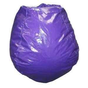 Bean Bag Boys Child Size Grape Bean Bag Chair